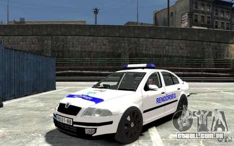 Skoda Octavia 2005 Hungarian Police para GTA 4