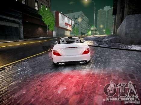 Mercedes SLK 2012 para GTA 4 traseira esquerda vista