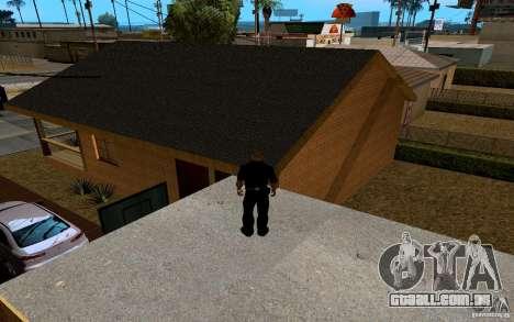 Nova casa grande robô para GTA San Andreas nono tela