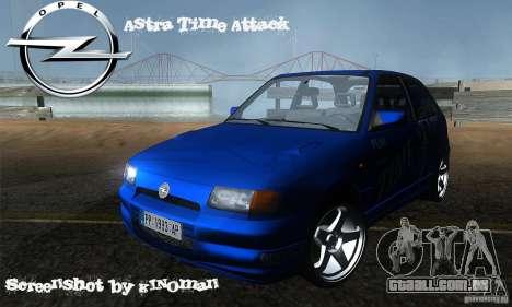 Opel Astra Time Attack para GTA San Andreas