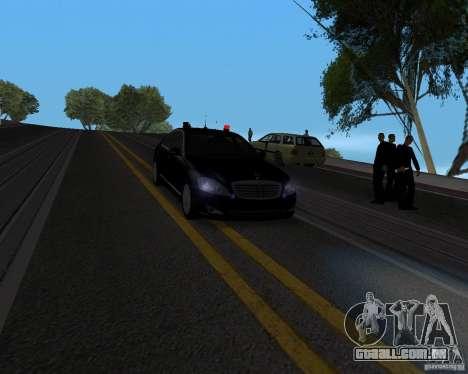 Mercedes Benz S500 w221 SE para GTA San Andreas