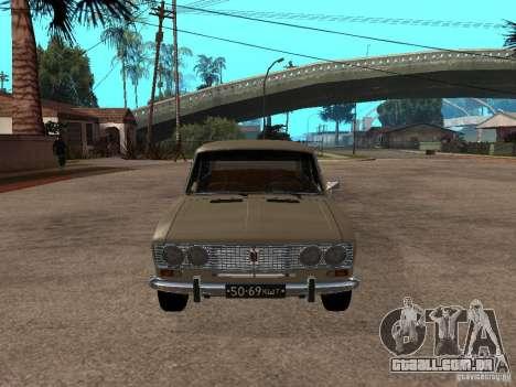 VAZ 2103 para GTA San Andreas esquerda vista