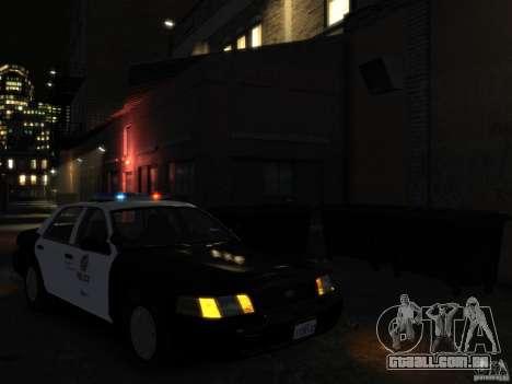 Ford Crown Victoria LAPD [ELS] para GTA 4 vista direita