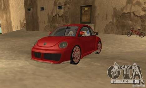 Volkswagen Bettle Tuning para GTA San Andreas