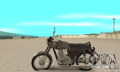 Jawa 350 634V5 atualização para GTA San Andreas esquerda vista