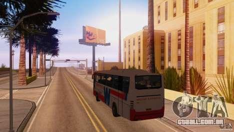 Weena Express para GTA San Andreas traseira esquerda vista