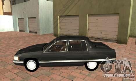 Cadillac Deville v2.0 1994 para GTA San Andreas esquerda vista
