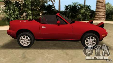 Mazda MX-5 para GTA Vice City deixou vista