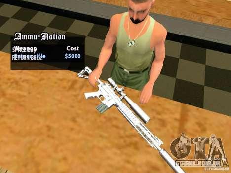 TeK Weapon Pack para GTA San Andreas twelth tela