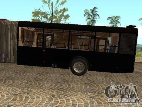 Trailer de Liaz 6213.70 para GTA San Andreas traseira esquerda vista