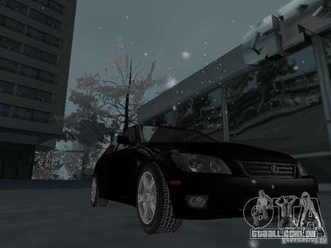 Lexus IS300 para GTA San Andreas vista superior