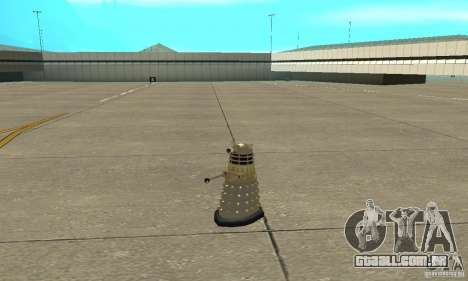 Dalek Doctor Who para GTA San Andreas