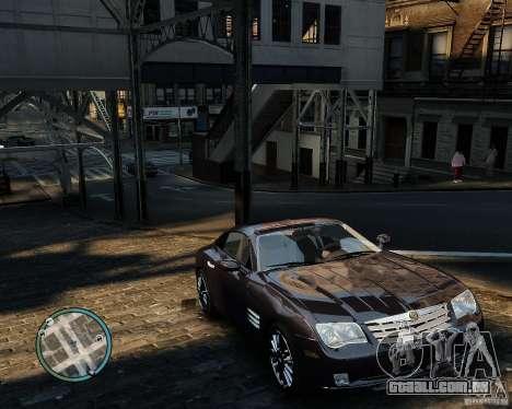 2007 Chrysler Crossfire para GTA 4 vista interior