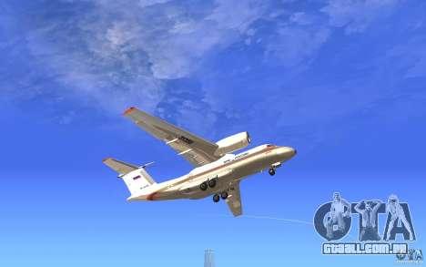 Antonov 74 para GTA San Andreas