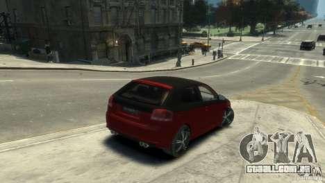 Audi BS3 O.CT Tuning para GTA 4 traseira esquerda vista