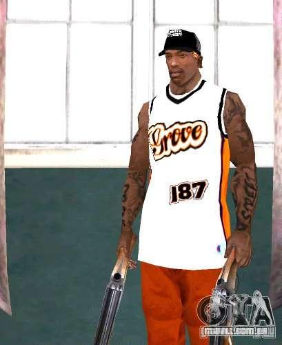 Bandas de substituição, tatuagens, roupas, etc. para GTA San Andreas sétima tela