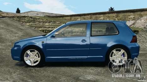 Volkswagen Golf 4 R32 2001 v1.0 para GTA 4 esquerda vista