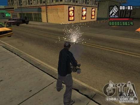 New Realistic Effects para GTA San Andreas segunda tela