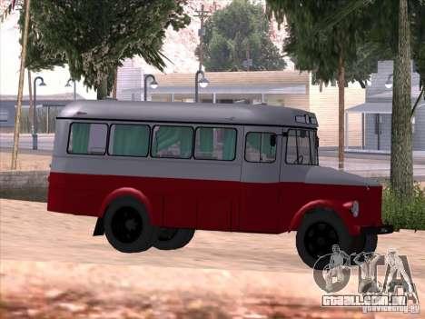 KAVZ 651A para GTA San Andreas vista traseira