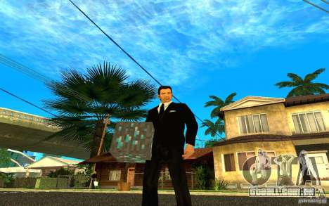 Minério de diamante do jogo Minecraft para GTA San Andreas quinto tela