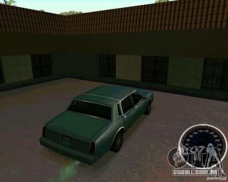 Velocímetro para GTA San Andreas segunda tela