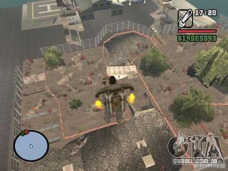 Off-Road v 2.0 de rota para GTA San Andreas nono tela