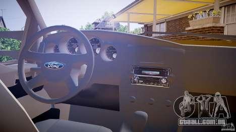 Ford F350 Stock para GTA 4 vista de volta