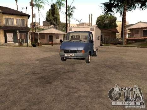 3302 Gazela 1994 para GTA San Andreas esquerda vista