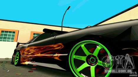 Elegia por fen1x para GTA San Andreas traseira esquerda vista