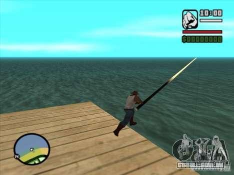 Pesca para GTA San Andreas