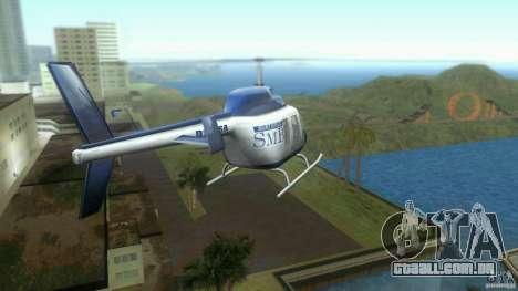 SubtopiCo SMB Maverick para GTA Vice City vista traseira esquerda