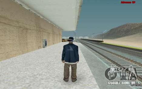 Novas skins para gangue Varios Los Aztecas para GTA San Andreas