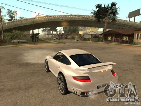 Porsche 911 GT2 para GTA San Andreas traseira esquerda vista