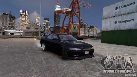 Toyota Mark II 2.5 para GTA 4 vista superior