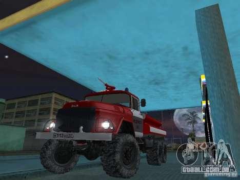 ZIL 131 AC-20 para GTA San Andreas vista interior