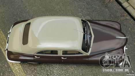 Packard Eight 1948 para GTA 4 vista de volta