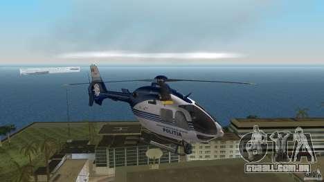 Eurocopter Ec-135 Politia Romana para GTA Vice City