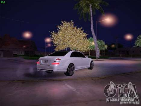 Mercedes-Benz S65 AMG V2.0 para vista lateral GTA San Andreas