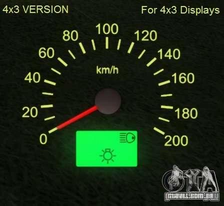 Velocímetro de Lada 2110 para GTA San Andreas