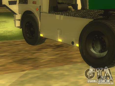 MAZ 5432 Turbo para GTA San Andreas esquerda vista