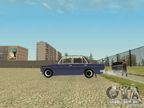 2106 VAZ velho para GTA San Andreas esquerda vista