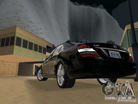 Mercedes-Benz S600 para GTA San Andreas interior