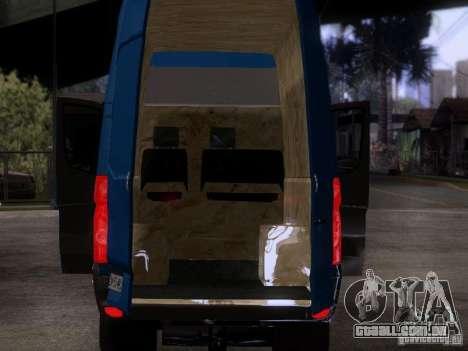 Volkswagen Crafter XL para GTA San Andreas