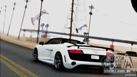 Extreme ENBseries v1.0 para GTA San Andreas por diante tela