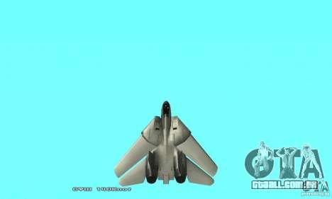 F14W Super Weirdest Tomcat Skin 2 para GTA San Andreas vista superior