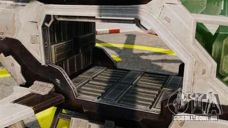 Helicóptero C.E.L.L. para GTA 4 vista interior