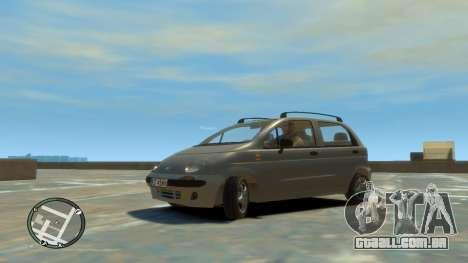 Daewoo Matiz Style 2000 para GTA 4 vista direita
