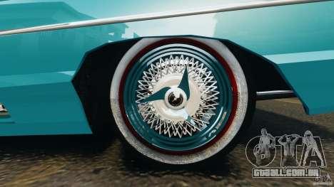 Ford Thunderbird Light Custom 1964-1965 v1.0 para GTA 4 vista inferior