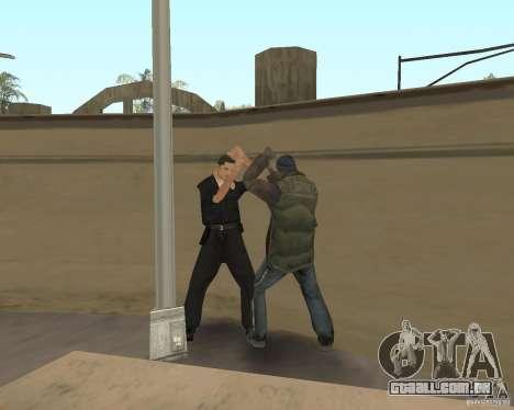 Vadios loucos para GTA San Andreas por diante tela