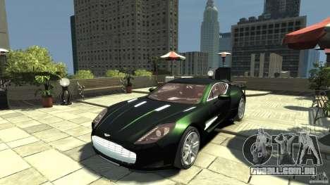 Aston Martin One-77 [EPM] para GTA 4